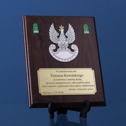 Dyplom dla żołnierza wojsk lądowych